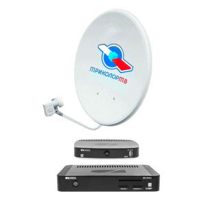Спутниковый комплект Триколор Full HD E501/C5911