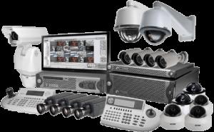 Установка система видеонаблюдения