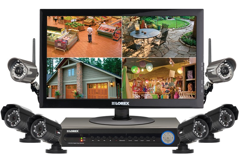 цифровые системы видеонаблюдения